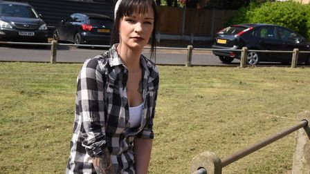Megan McKenzie is appealing for the return of her motorbike which was stolen from outside of her boy