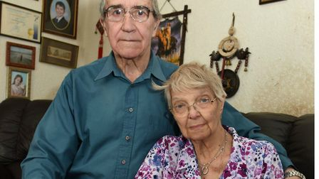 Stan and Brenda Buzer: Brenda died in 2015 from liver cirrhosis caused by hep C contracted from a bl