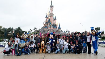 Louie Spence, Stacey Solomon; Singer, Alesha Dixon, Joe Swash and Lydia Bright joined children from