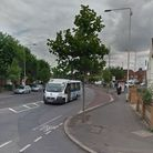 The collision happened in Wood Lane, close to the Verney Road junction (Picture: Google Maps)
