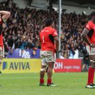 Saracens' George Kruis (left), Mako Vunipola (centre) and Maro Itoje look dejected after the loss to