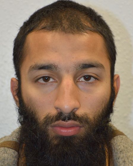 Khuram Shazad Butt is one of the three terrorists. Picture: MET POLICE