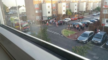 A man has died after falling from a block of flats in Dagenham