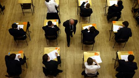 Some Barking and Dagenham pupils are trailing their peers by a year by the time they sit GCSEs. Pict