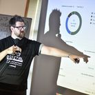 Archant Digital Marketing masterclass. Jamie Brown speaking at the event. Picture : ANTONY KELLY