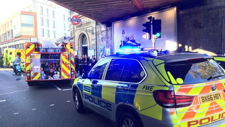 Police response to Parsons Green incident
