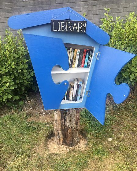 The library is at Barking Riverside. Picture: Yvonne Thomas