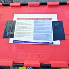 The Metropolitan Police's new acid attack response kit contains water, safety goggles and gloves. PI