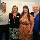 The L to R: Tony Foster, Sarah Scott-Foster, Karen West-Whylie and Kathy Ennis at the Thames Gateway