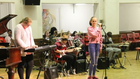 The Jazz and Blues festival at Sydney Russell School