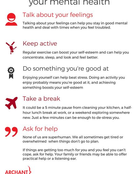 A quick guide to maintaining your mental health.