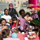Royal Opera House's Alice in Wonderland at Thamesfest (Picture: Jimmy Lee)