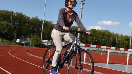 Mayesbrook Park in Dagenham is hosting a cycling proficiency event to raise awareness of cycling wit