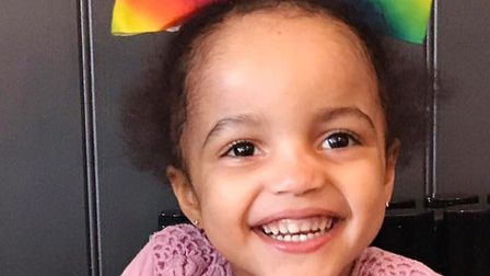 Elliana Shand, also known as Elliana Richards, who turns four next month, is believed to be in the U