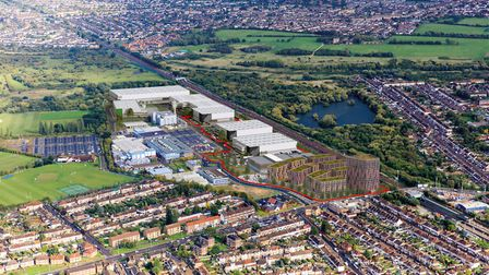 The proposed 18.7-acre site in Rainham Road South. Picture credit: LBBD