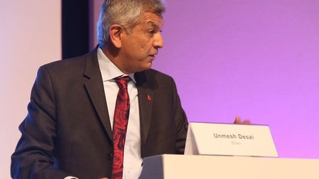 The event was hosted by Barking and Dagenham's assembly member Unmesh Desai. Picture: Richard Wood