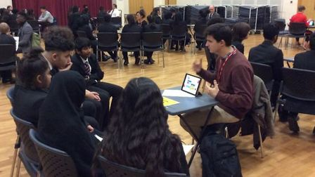 Eastbury Community School students hear insights from the working world.