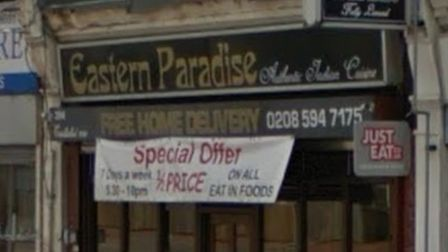 Eastern Paradise is in Ripple Road, Barking. Picture credit: Google.