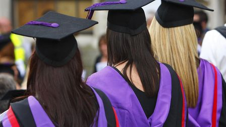 More students in the borough are going to university. Picture credit: PA.
