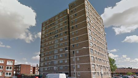 Police were called to Perryman House in Barking. Picture: Google