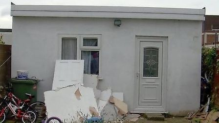 The council raided 'beds in sheds' in the borough that are similar to this building. Picture credit: