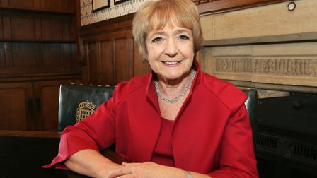 Margaret Hodge MP says she is 'deeply concerned' by the sharp increase in knife crime. Picture: Paul