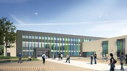Artist's impression of Barking and Dagenham College's Centre for Advanced Technologies. Picture: Bar
