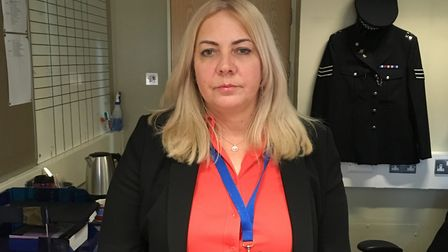 Detective Sergeant Emma Bowles, of the East Area Command's gangs unit. Picture: Emma Youle