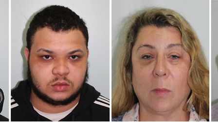 Tre Smith, Levi Smith, Lea Jackson and Sean Jackson were all sentenced. Picture: Met Police.