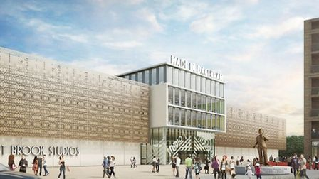 How the new film studios could look. Picture: LBBD