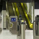 New Crossrail ticket gates. Picture: TfL