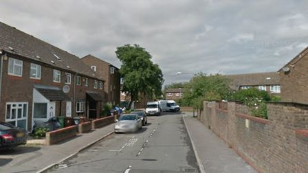 The shooting took place in Nash Road last night. Picture credit: Google