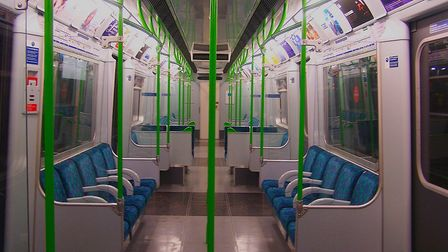 The attack happened on a District line train. Picture: Peter Skuce