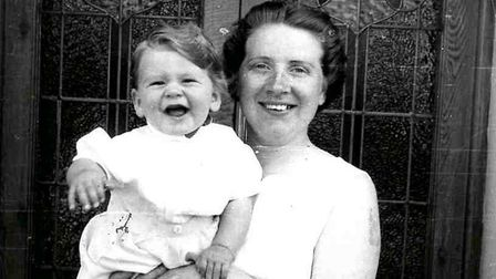 Florence with her son Matthew, taken in the 1950s. Picture: Family handout/Irwin Mitchell