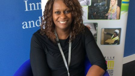 Pricincipal of Barking and Dagenham College Yvonne Kelly. Picture: Kate Bishop