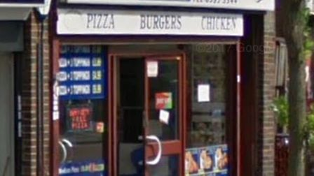 Moon Pizza in Broad Street was ordered to pay more than £1,000. Picture: Google