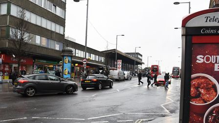 Barking Town Centre. Picture: Ken Mears
