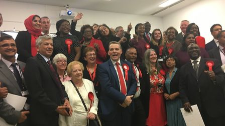 The newly elected Labour councillors. Picture: Tom Horton