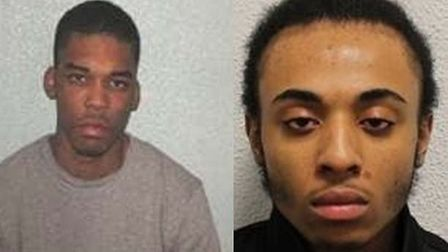 Devone Pusey and Kai Stewart have been jailed for murder Picture: Met Police
