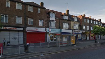 People are being targeted near the shops in Wood Lane and Dagenham Heathway. Picture: Google