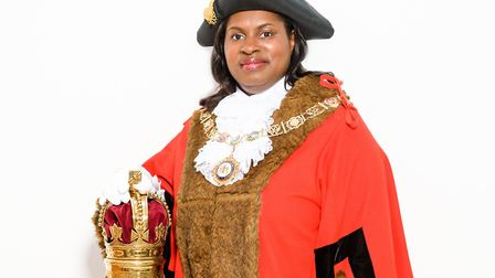 Councillor Sanchia Alasia is Barking and Dagenham's new mayor. Picture: J-LEE