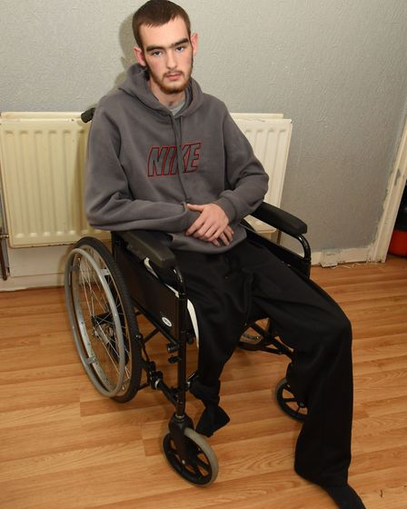 Tyler also suffered brain damage due to the extent of his injuries. Picture: Ken Mears