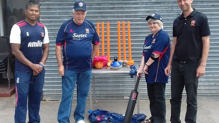 Essex Cricket have been running the sessions in Mayesbrook Park. Picture: LBBD