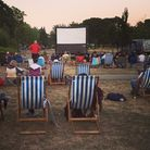 The film screening at Valence House. Picture: Chadwell Heath South Residents' Association
