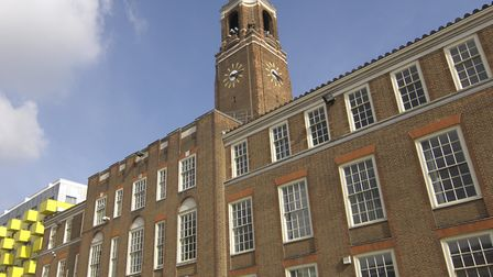 Barking Town Hall. Picture: LBBD
