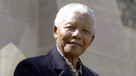 Nelson Mandela Picture: PA/Kirsty Wigglesworth