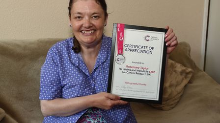 Rosemary Taylor is grateful to the nurses at King George's and Queen's Hospitals for looking after h