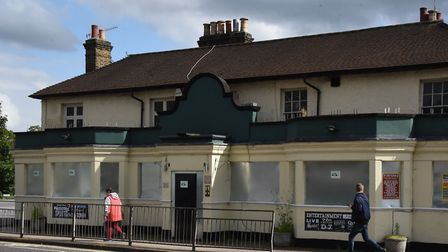 The White Horse pub in Chadwell Heath. Picture: Ken Mears