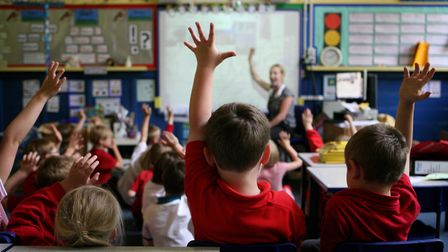 School exclusion rates have been published. Picture PA/Dave Thompson