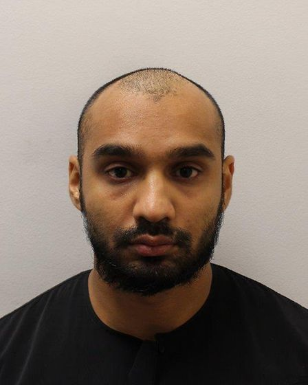 Monzur Ahmed was found guilty of manslaughter and jailed for nine years. Pic: Met Police